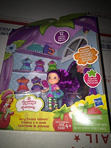 Strawberry Shortcake Berry Princess Fashions 3 Plum Pudding Doll Mini Set
