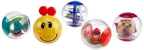 Mirror Chime Rattle Light Activity Balls
