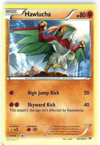 Pokemon - Hawlucha 87162 - XY BREAKthrough