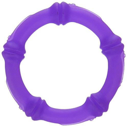 KidKusion Gummi Teething Bracelet Just My Size Purple