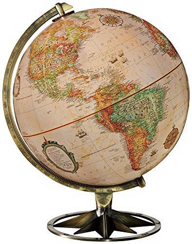 Replogle Compass Rose 12 in Tabletop Globe by Replogle Globes Inc