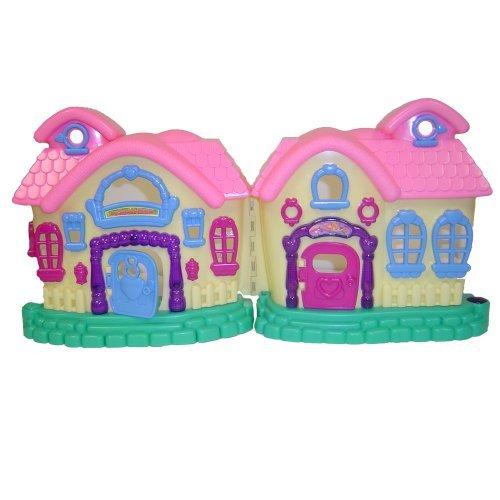 WeGlow International My Sweet Home Doll House And Play Set by WeGlow International