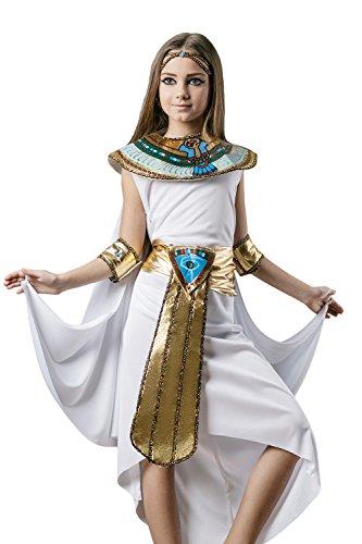 Kids Girls Cleopatra Halloween Costume Egyptian Princess Dress Up Role Play 6-8 years