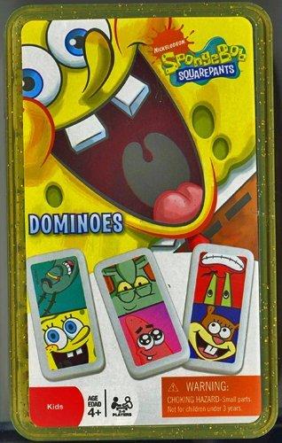 Spongebob Squarepants Kids Dominoes in Storage Case by Nickelodeon