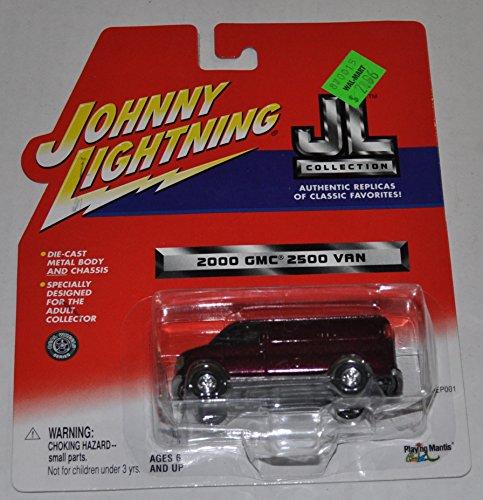 2000 GMC 2500 Van - JL Collection - Johnny Lightning - Diecast Car