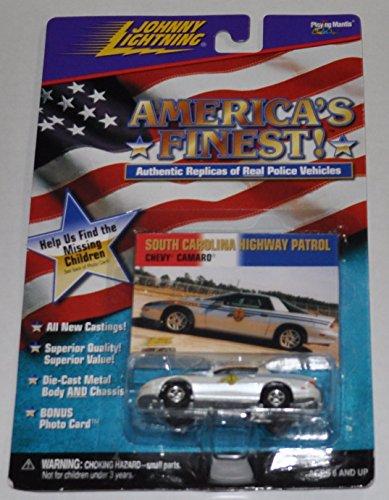 Chevy Camaro South Carolina Highway Patrol - Americas Finest - Johnny Lightning - Diecast Car