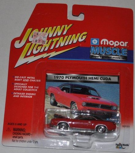 Plymouth Hemi Cuda 1970 - Mopar Muscle - Johnny Lightning - Diecast Car