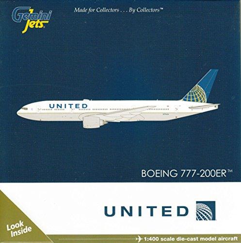 Gemini Jets United B777-200ER 1400 Scale Airplane Model