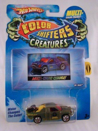 Hot Wheels Color Shifters Creatures 164 Car Off Track