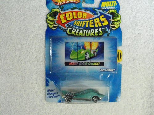 Hot Wheels Color Shifters Creatures SUPER STINGER ~ Colors Vary