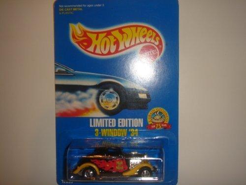 1993 Hot Wheels Limited Edition Malt O Meal 3-Window 34 BlackYellowRed
