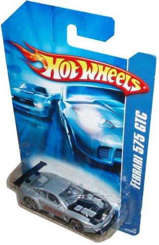 Hot Wheels - 2006 - Ferrari 575 GTC - Silver Black - 201223 - Limited Edition - Collectible