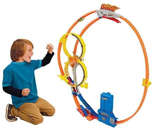 Hot Wheels Super Loop Chase Race Trackset Discontinued by manufacturer