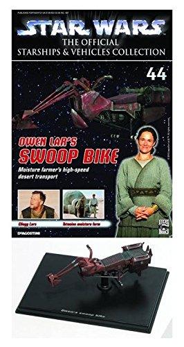 Star Wars Vehicles Collectors Magazine 44 Swoop Bike Lead Figure 2010 De Agostini