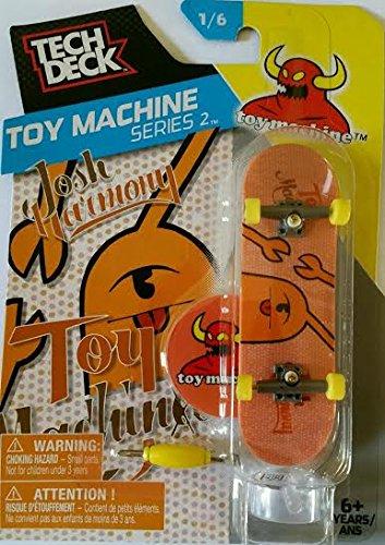 2016 Tech Deck Toy Machine Series 2 16 - Josh Harmony Toy Machine Finger Skateboard with Display Stand
