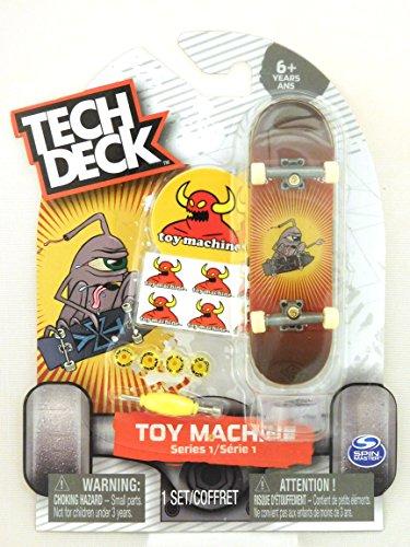Tech Deck TOY MACHINE Series 1 Ultra Rare Jeremy Leabres Skateboard Fingerboard