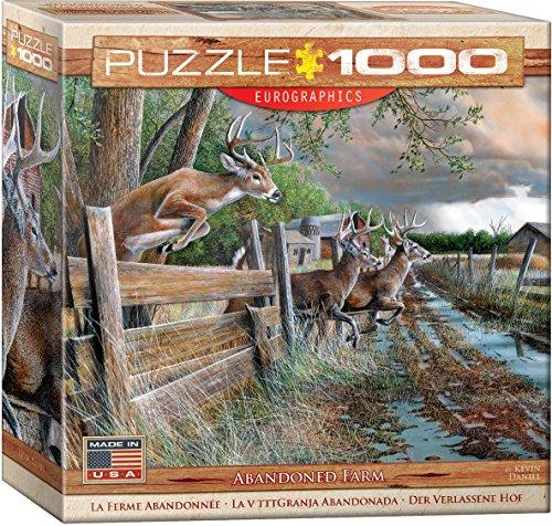 EuroGraphics Abandoned Farm Puzzle 1000 Piece