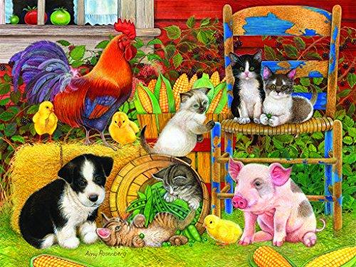 Farm Friends - 300 Piece Jigsaw Puzzle By SunsOut Inc