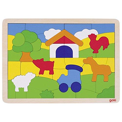 Goki Puzzle Farm Puzzle 55 Piece