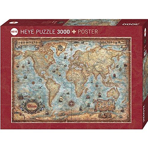 Heye The World 3000 Piece Jigsaw Puzzle