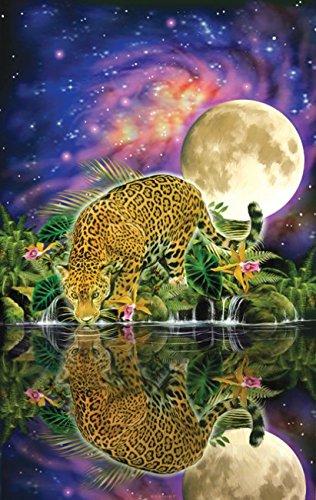 Leopard Moon A 550 Piece Jigsaw Puzzle by SunsOut