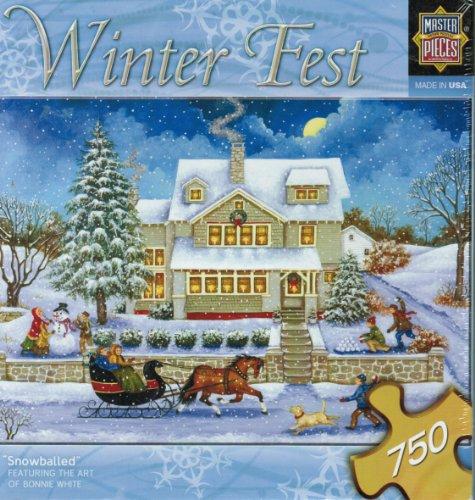 Winter Fest Snowballed by Bonnie White 1000 piece Jigsaw Puzzle
