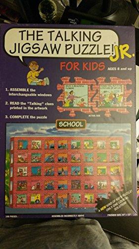 The Talking Jigsaw Puzzle Jr School Rare
