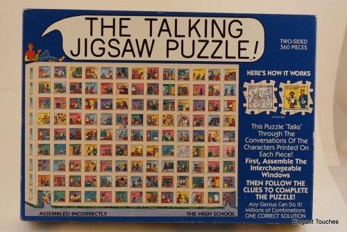 The Talking Jigsaw Puzzle - The High School by 1993 Don Scott Associates Inc