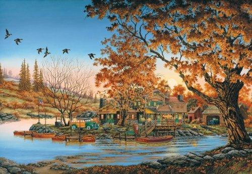 Hodge Podge Lodge a 2000-Piece Jigsaw Puzzle by Sunsout Inc