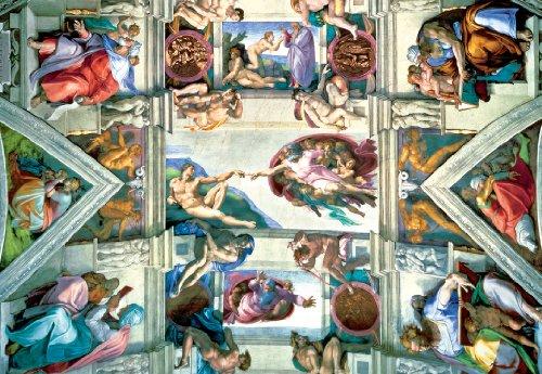Sistine Chapel 2000 Pieces Jigsaw Puzzle