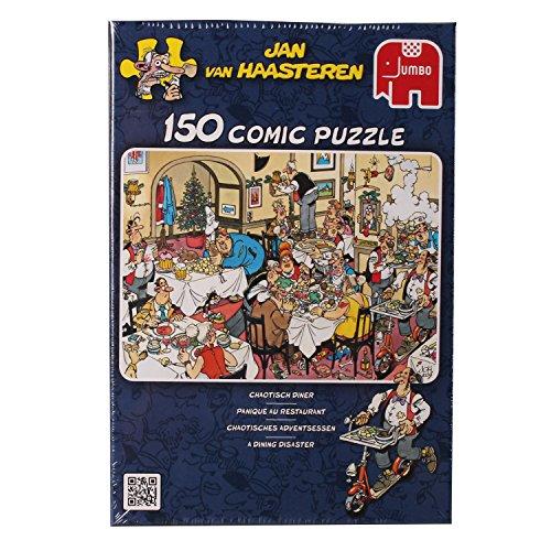 Jan Van Haasteren - 150-piece Dining Disaster Jigsaw Puzzle