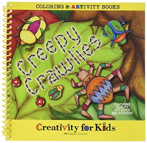 Creativity For Kids Coloring ARTivity Book Creepy Crawlies