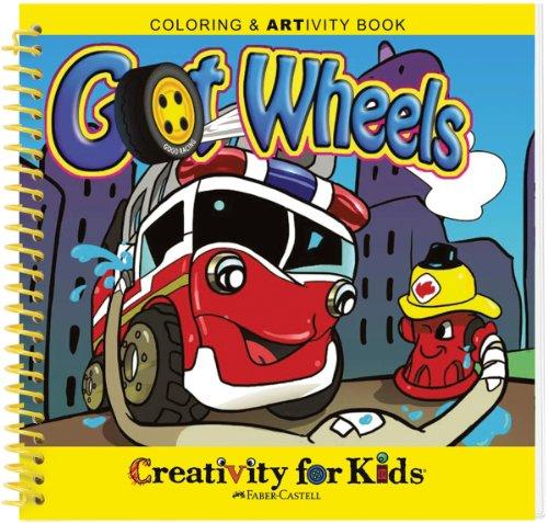 Creativity For Kids Coloring ARTivity Book Got Wheels