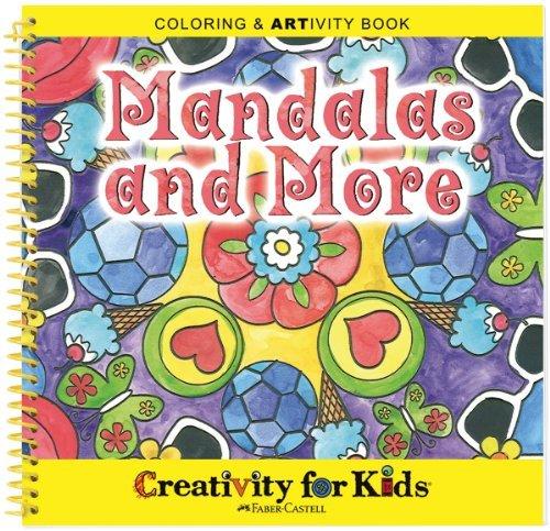 Faber-Castell Creativity For Kids Coloring ARTivity Book Mandalas More