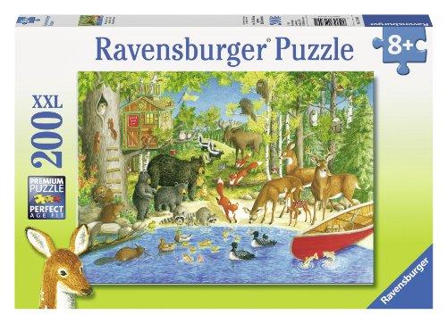 Ravensburger Woodland Friends Puzzle 200-Piece