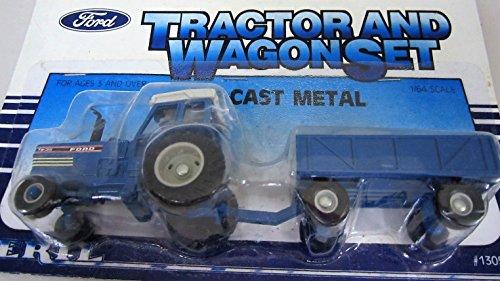 ERTL 1986 Ford Tractor Wagon Set 1305 164 Diecast Metal Replica