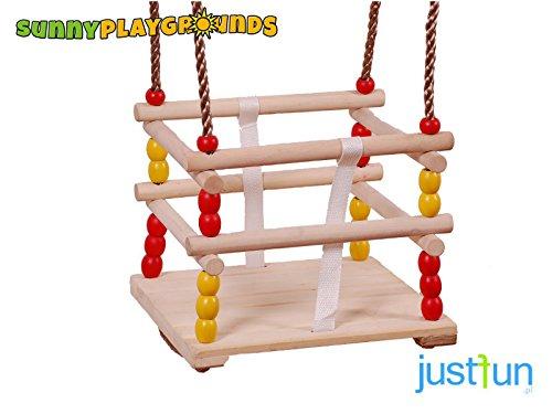 BUCKET WOODEN SWING SEAT-Outdoor Indoor Playground Swing Set Accessories Kids by Sunnyplaygrounds