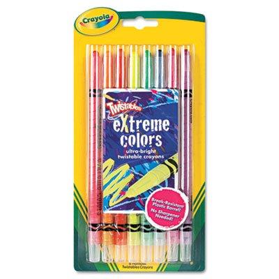 Crayola Twistable Crayons 8 Neon ColorsSet