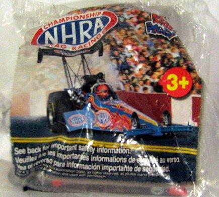 NHRA DRag Racing Wendys Kids Meal Toy Car Dragster