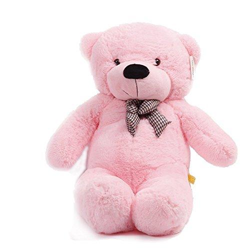 47cuddly Huge Plush Stuffed Teddy Bear Toy Doll 120cm Pink