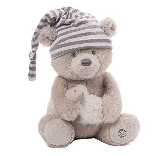 Gund Baby Animated Stuffed Teddy Bear Sleepy Time