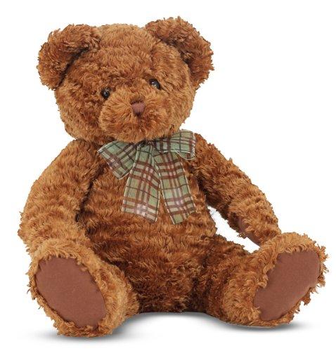 Melissa Doug Chestnut - Classic Teddy Bear Stuffed Animal