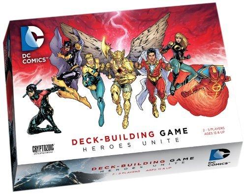 DC Comics Deck-Building Game Heroes Unite by Cryptozoic Entertainment