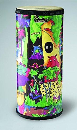 Remo Kids Percussion 10 inch Tubano Drum in Rainforest Design Age 5 by Remo