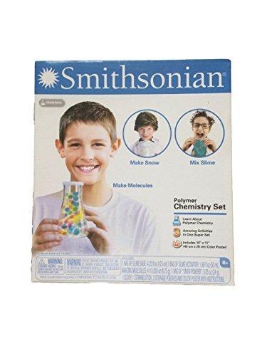Chemistry Set for Kids - Smithsonian Polymer Educational Science Set