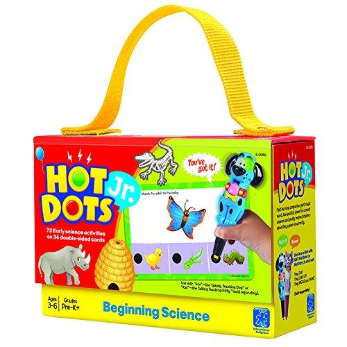 EDUCATIONAL INSIGHTS HOT DOTS JR BEGINNING SCIENCE Set of 6