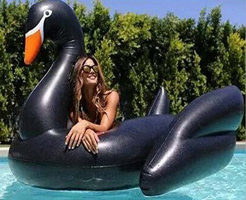 Sunshine Trading Giant Inflatable Swan Premium Quality and Largest Size for Adults and Kids