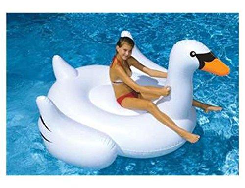 Swimline 90621SL 75 Giant Inflatable Swan Vinyl Float 90621