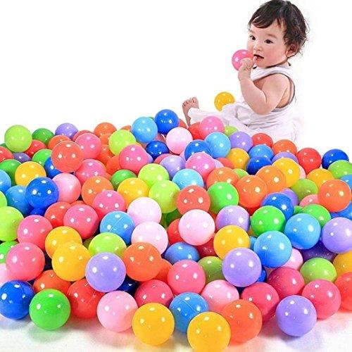 Start 100pcs 7CM Colorful Swimming Pool Ball Soft Plastic Fun Ball