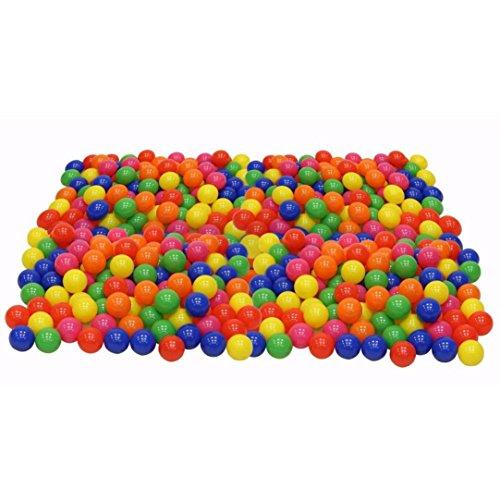 Start 200pcs Colorful Swimming Pool Ball Soft Plastic Fun Ball